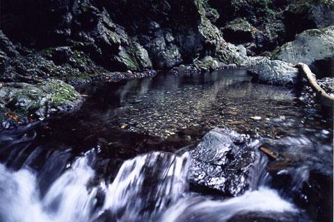 泉水谷清流